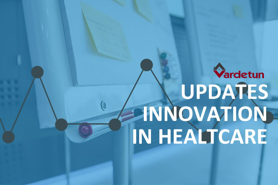 Updates innovation in healthcare, Rune Aresvik